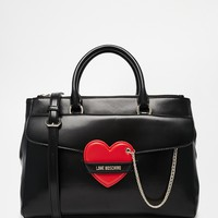 Love Moschino Tote Bag with Heart Detail at asos.com