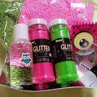 Girly slime kit gift set