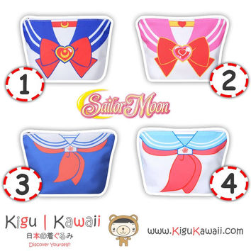 New Sailor Moon Uniform Pouch Purse Hand Bag Make Up Kit 4 Designs KK763