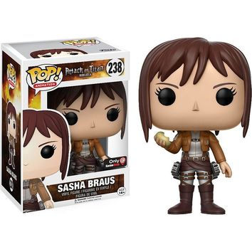 Sasha Braus Attack on Titan Funko Pop! Vinyl Figure #238 Gamestop Exclusive