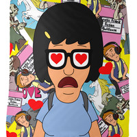 Tina Belcher Fleece Blanket