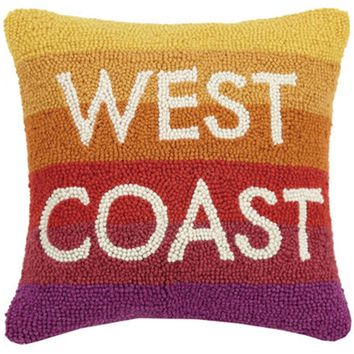 California Republic West Coast Throw Pillow
