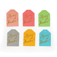 Many Thanks Gift Tags