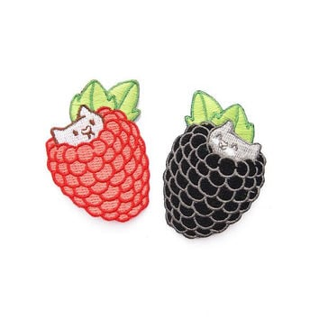 Berry Kitten Patches