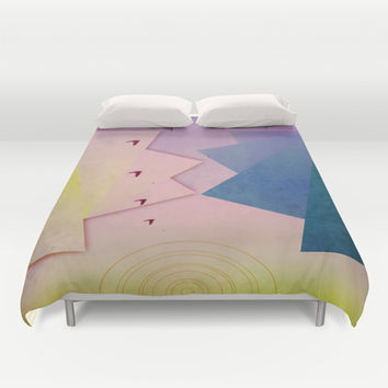 Into the Sunset Duvet Cover by DuckyB (Brandi)