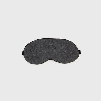 Alpaca Eye Mask - Charcoal