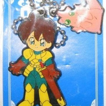 Record Of Lodoss War Parn Mascot Swing Key Chain Holder Trading Colleciton Figure
