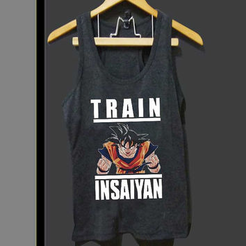 GOKU Train Insaiyan for Tank top Mens and Tank top Girls ZeroSaint custom