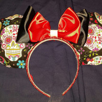Sugar Skull Mouse Ears