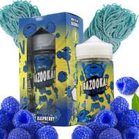 Blue Raspberry Sour Straws - Bazooka Sour Straws