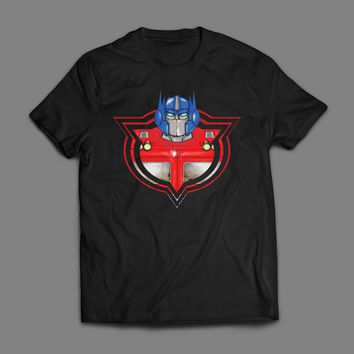 1980'S CARTOON TRANSFORMERS AUTOBOT LEADER OPTIMUS PRIME T-SHIRT