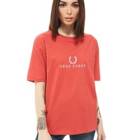 Fred Perry Sports Authentic Embroidered T-Shirt | JD Sports