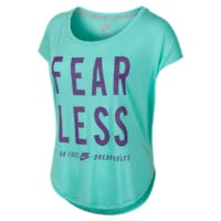 "Nike ""Fearless"" Women's T-Shirt Size Large (Green)"