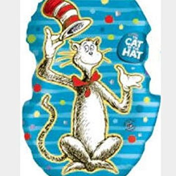 "Dr Seuss The Hat In The Hat 34"" Balloon"