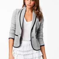 'The Ryleigh'  Gray Long Sleeve Blazer
