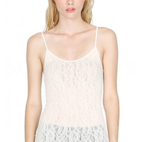 Sugarlips Seamless Lace Camisole