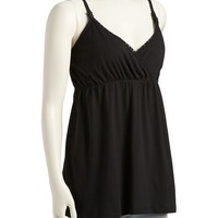 Old Navy Maternity Lace Trim Nursing Cami