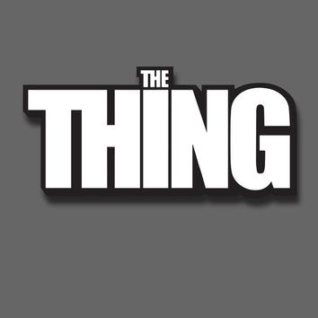 The Thing - The Thing Logo - Enamel Pin - Fright-Rags