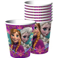 Frozen Cups - 8 Paper Cups- Party City