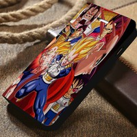 Dragon Ball Z Custom Wallet iPhone 4/4s 5 5s 5c 6 6plus 7 and Samsung Galaxy s3 s4 s5 s6 s7 case