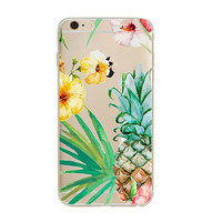 Newest Customized Pineapple Case Cover for iPhone 7 7 Plus & iPhone 5s se & iPhone 6 6s Plus + Gift Box-462