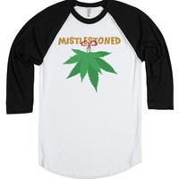 Let's get Mistlestoned-Unisex White/Black T-Shirt