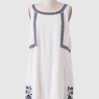 Soledad Embroidered Dress