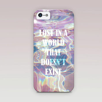 Holographic Printed QuotePhone Case For - iPhone 6 Case - iPhone 5 Case - iPhone 4 Case - Samsung S4 Case