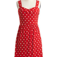 Berry Much In Love Dress - ModCloth Shopping Bag