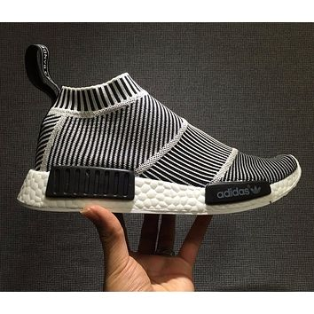 Adidas Originals NMD Mid City Sock Boost Sport Running Shoes Classic Casual Shoes Sneakers