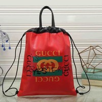 GUCCI Women Fashion Backpack Daypack Handbag Tote Shoulder Bag