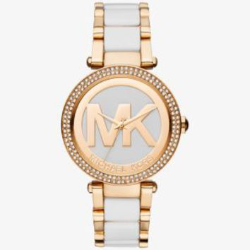 Parker Gold-Tone and Acetate Watch | Michael Kors