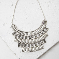 Tiered Tribal-Inspired Necklace