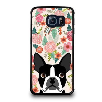 BOSTON TERRIER DOG BREED Samsung Galaxy S6 Edge Case Cover