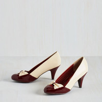 Vintage Inspired Uptown and At 'Em Heel by Bait Footwear from ModCloth