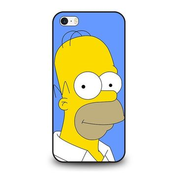 HOMER SIMPSONS iPhone SE Case Cover