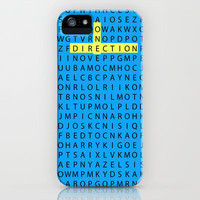 Wordsearch LOVE:  Find All The Boys iPhone Case by Alice Gosling | Society6