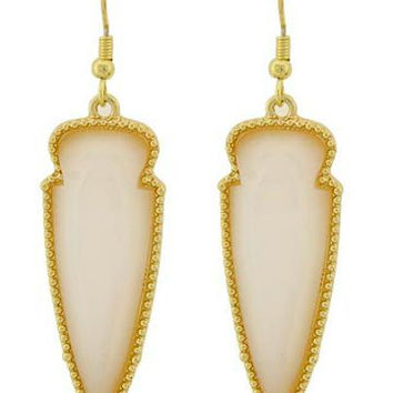 Cass Earrings | Cream