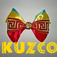 Kuzco Disney Bow by ToInfinityBowtique on Etsy