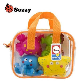 CREYLD1 USA SOZZY High Quality Children Bathing Swimming Toys Animal Shape and Vehicle Shape Water Spray Toys