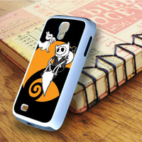 Adventure Time With Jack Skellington Samsung Galaxy S4 Case