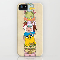 Adventure Time iPhone & iPod Case by LozIllos