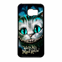 Chesire Cats Smile 2 Samsung Galaxy S6 Case