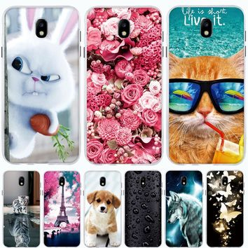 For Samsung Galaxy J7 2017 Case Silicone TPU Cover for Samsung Galaxy J8 J3 J2 J4 J6 2018 Case Cover for Samsung J8 2018 Case