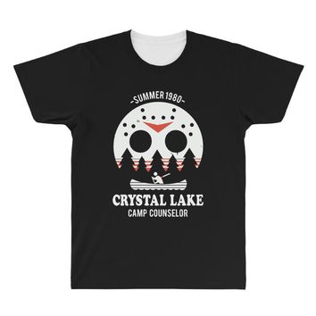 crystal lake camp counselor All Over Men's T-shirt