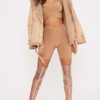 Bella Spice Slinky High Waisted Cycle Shorts