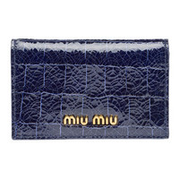 Miu Miu e-store · Accessories · Wallets · Credit Card Holder 5M1122_NKG_F0016