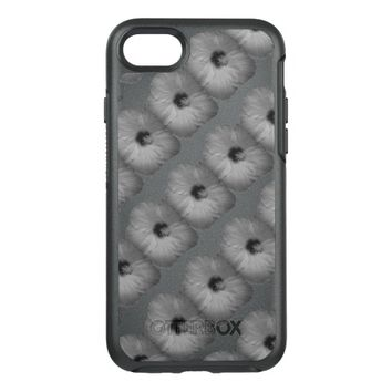 Hawaiian Dreams in Black and White OtterBox Symmetry iPhone 7 Case