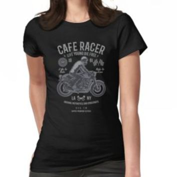 'CAFERACER' T-Shirt by Super3