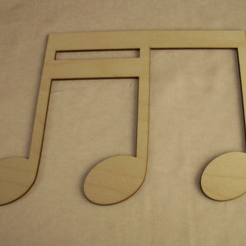 Music Note, Laser Cutouts,Unfinished Wood,Christmas Decorations,Holiday Home Decor,Wreath Decorations,Christmas Ornaments,Wood Shapes